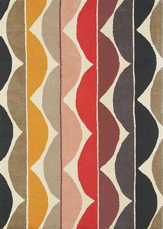 Yoki Rugs are handmade in India by Brink and Campman and have been designed in the UK by Scion to match their range of fabrics and wallpapers. Orange Area Rug, Blue Area Rugs, Rectangle Area, Modern Area Rugs, Hand Tufted Rugs, Scion, Rug Cleaning, Contemporary Rugs, Modern Decor