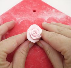 Make a showstopper with this elegant rose cascade cake using the amazing 'easiest rose cutter' from FMM
