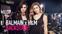 BALMAIN x H&M BACKSTAGE ft Olivier Rousteing, Kendall Jenner| MODTV
