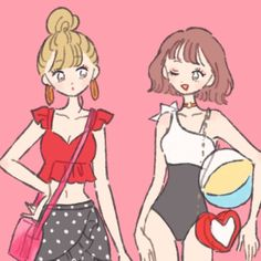 """たなか on Instagram: """"peachy(@peachy_room)様にてキューティーハニー風水着コーデ👙描かせていただきました!よろしくお願いします⭕️ #illustration #fashion"""" Chino Anime, Character Inspiration, Character Design, Korean Art, Cool Art Drawings, Beautiful Anime Girl, Girls Characters, Illustration Girl, Character Outfits"""