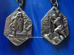Christoffel sleutelhanger Christoffel/Lourdes