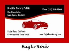 Eagle Rock Mobile Traveling Notary in Los Angeles, California 90041