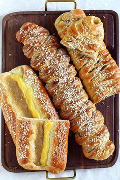 Suklaapossu: Pullapitkot x 3 / omena-vanilja- ja kinuski-kanelitäytteillä