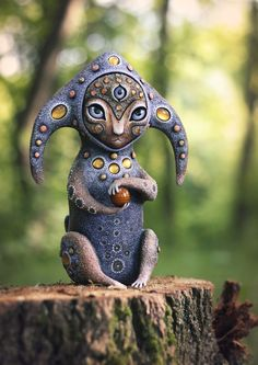 Maryana Kopylova Cute Mythical Creatures Brings Fantasy Closer Into Our Own Lives And We Love It Magical Creatures, Fantasy Creatures, Fantasy World, Fantasy Art, Paperclay, Clay Art, Ceramic Art, Art Dolls, Mystic