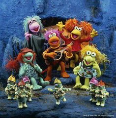 Fraggle rock. Dance your cares away. Worries for another day. Let the music play. Down in Fraggle Rock!