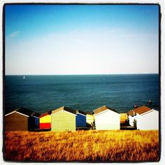Whitstable beach huts #BeachHuts #Seaside