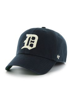 a95f0c31c2d Detroit Tigers  47 Mens Navy Blue 1941 Franchise Fitted Hat Mlb Tigers