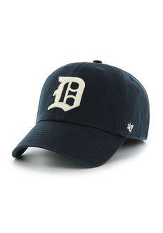 6237ef32038 Detroit Tigers  47 Mens Navy Blue 1941 Franchise Fitted Hat Mlb Tigers