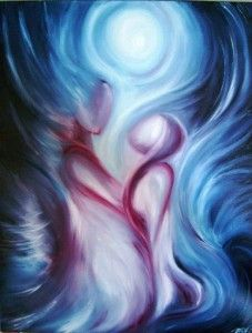 From our first meeting, our spirits began touching one another. You were recognized by my heart before my eyes understood who you were.