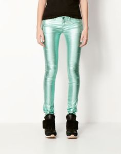 Bershka México - Jeans BSK metalizados