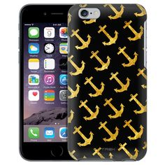 Apple iPhone 6 Gold Anchors Case from Trek Cases Anchor Phone Cases, Iphone 6 Gold, Anchors, Apple Iphone 6, Slim, Trek, Products, Anchor, Gadget