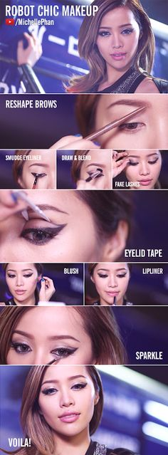 Michelle Phan is robot chic → http://youtu.be/u_za2Me-jQE