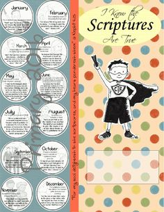 2016 LDS Primary Binder Cover