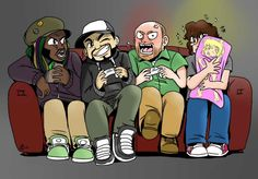 Super Best Friends Play By Tonibabelony colored by sjay449.deviantart.com on @deviantART
