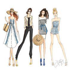 Custom Fashion & Bridal Illustrations