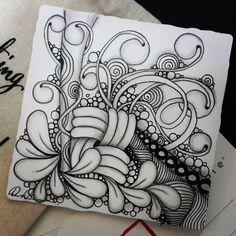 Zentangle - 052517. Artwork from Rebecca Kuan - #rebeccasecretbox Welcome to visit my FB Page: https://www.facebook.com/Rebecca.Zentanglebox/ #zentangle #zendoodle #doodle #doodleart #draw #drawing #tangle #art #artwork #sketch #zentangleart #zentangleinspiration #learnzentangle #zenart #hearttangles