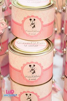 Minnie Mouse tins