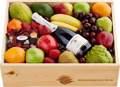 Shop our range of gift hampers & baskets online. Each hamper is packed with fruit, treats & more. Delivery Australia-wide for perfect corporate or personal gifts. Fruit Hampers, Gift Hampers, Gift Baskets, Chocolate Delight, Chocolate Gifts, Mixed Fruit, Fresh Fruit, Best Thank You Gifts, Vegetable Packaging