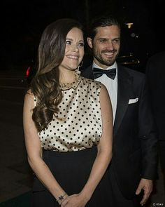 October 20, 2017 Princess Sofia and Carl Philip Attended a Charity Dinner #princesssofiaofsweden #princecarlphilip #prinsessansofia #prinscarlphilip #dukeandduchessofvärmland #svenska #svenskakungafamiljen