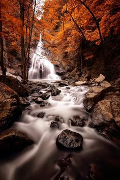 Landscape Photography by Erhan Asik--creating depth by getting a low shot, long exposure