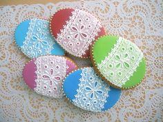 Roll Cookies, Cake Cookies, Sugar Cookies, Easter Art, Easter Eggs, Easter Cookies, Let Them Eat Cake, Cookie Decorating, Cake Pops