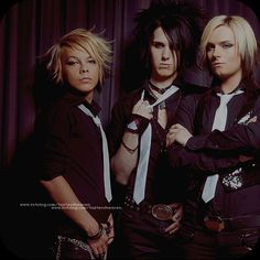 Kiro Cullen, Yu Phoenix and Jack E. Strify from the ex-band Cinema Bizarre