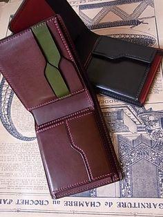 Wallets, belts, leather goods, handmade leather craft Lutece-SR