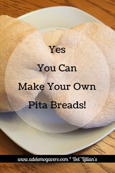 Yes you can make your own Pita Breads...Pita bread dough is a favorite of mine to have in the fridge.  Pita Bread is super simple to make and it makes the best sandwiches and snacks! It's just right for    <strong>Quilters who Love to Bake and Create.