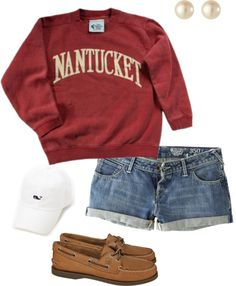 """Nantucket"" by pinkprep37 ❤ liked on Polyvore"