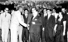 Mestre Bimba & President Getulio Dorneles Vargas