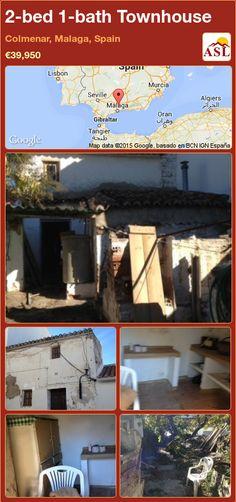 2-bed 1-bath Townhouse in Colmenar, Malaga, Spain ►€39,950 #PropertyForSaleInSpain