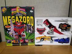 Bandai Mighty Morphin Power Rangers 1993 Deluxe set Megazord In the Box! #Bandai