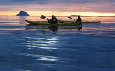 10 ideer til padleturer på Helgelandskysten