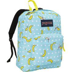 JanSport SuperBreak Backpack ($29) ❤ liked on Polyvore featuring bags, backpacks, blue, school & day hiking backpacks, pocket backpack, jansport bags, pocket bag, handle bag and blue backpack
