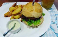 Yummy!  #burger #instafood #fries