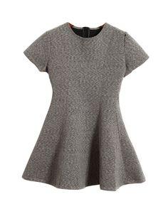Flouncing Slim Waist Dress