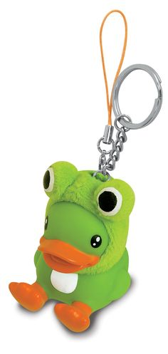 Bduck Frog Key Chain