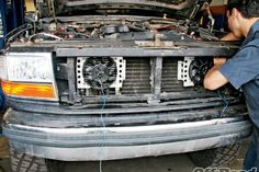 Dual Transmission Coolers Install - Give Your Gearbox Goosebumps! Performance Transmission, Ford Obs, Cooler Box, Land Rovers, Ford Bronco, Coolers, Garage, Trucks, Autos
