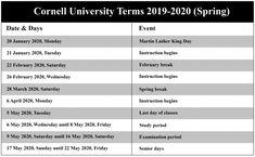 Cornell 2022 Calendar.Nyc School Calendar Templates Nycschoolcalendar Profile Pinterest