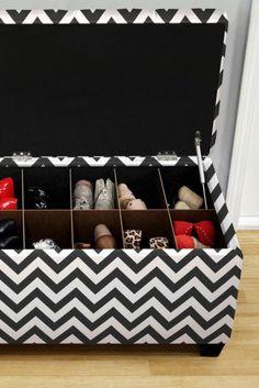 4149d6d4c7d2 15 idées simples et géniales pour ranger vos chaussures comme un AS !