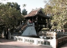 Chùa một cột - a Special architecture of Vietnam located in Ha Noi