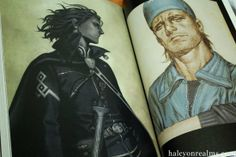 "Halcyon Realms – Animation.Film.Photography and Art Book Reviews » » Range Murata artbook ""Prismtone"" Range Murata, Manga Mania, Popular Culture, Book Review, Book Art, My Books, Films, Graphic Design, Anime"