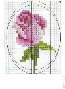 Beadwork Brooch Making 7 Tiny Cross Stitch, Cross Stitch Cards, Cross Stitch Flowers, Modern Cross Stitch, Counted Cross Stitch Patterns, Cross Stitch Designs, Cross Stitching, Cross Stitch Embroidery, Embroidery Patterns
