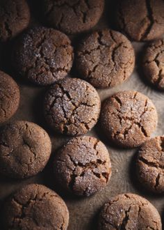Bacon Fat Gingersnaps by The Tart Tart. These bacon fat gingersnaps taste smoky and exotic, hardly like bacon, although you can tell there's something in there that contributes an inexplicable... savoriness? Huskiness?