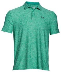 Play to win in this striped polo from Under Armour that features signature Golf Attire, Golf Outfit, Perfect Golf, Mens Golf, Under Armour Men, Ladies Golf, Golf Shirts, Mac, Mens Fashion