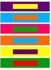 Por Contraste de Colores