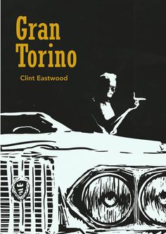 Gran Torino movie poster on Behance Más