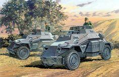 German Armored Car: SdKfz 222