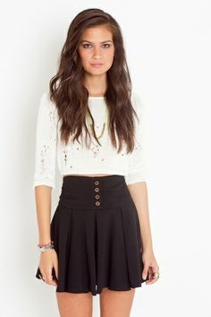 Stanford Pleated Skirt