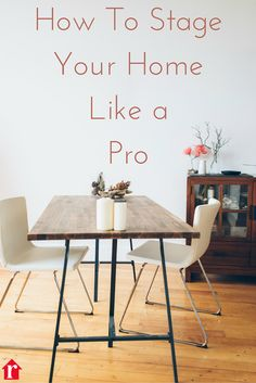 Smart home sellers know that staging your home means a faster sale and for more money. Get staging & styling tips ideas from the pros...that you can do yourself. Home staging ideas are at the link.